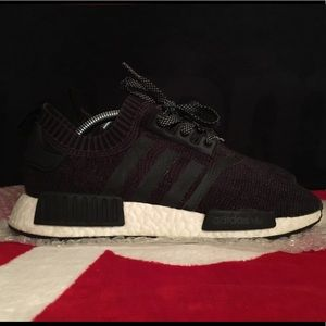 5531735fd adidas Shoes - Adidas NMD R1 winter wools R1 size 8 Black VNDS